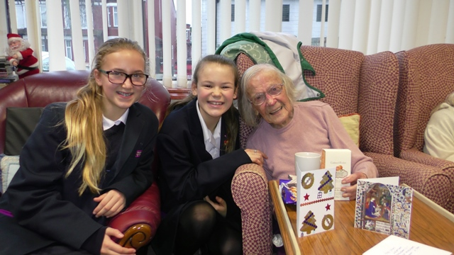 Year 7 students show their giving side
