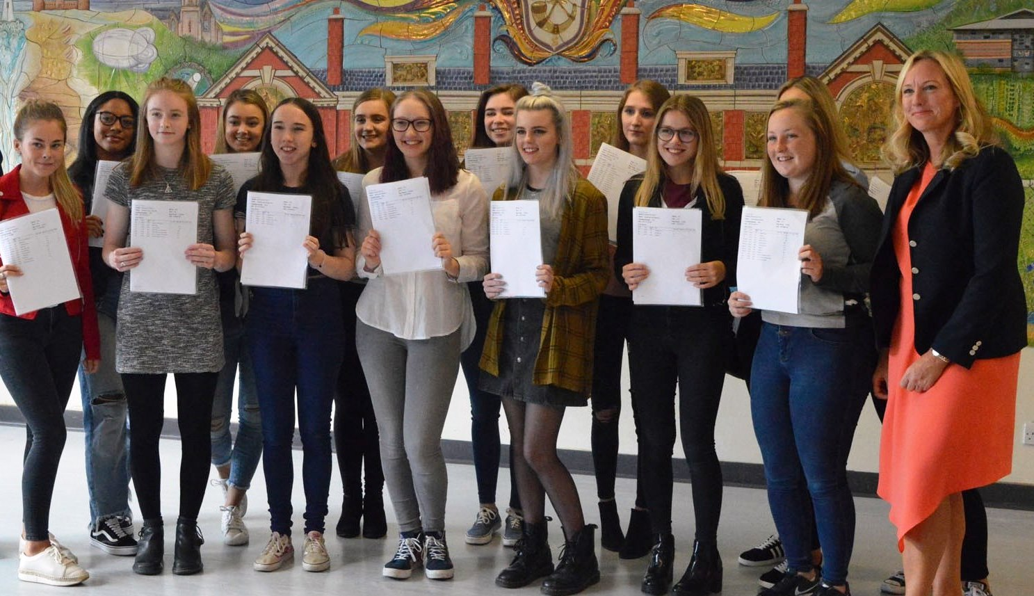 Weatherhead Students Celebrate A Level Successes Breaking New Records!