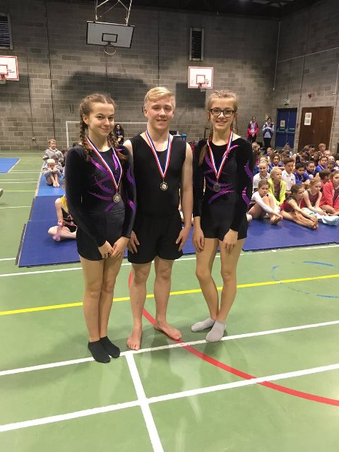 Gymnasts take gold to become North West Regional Champions