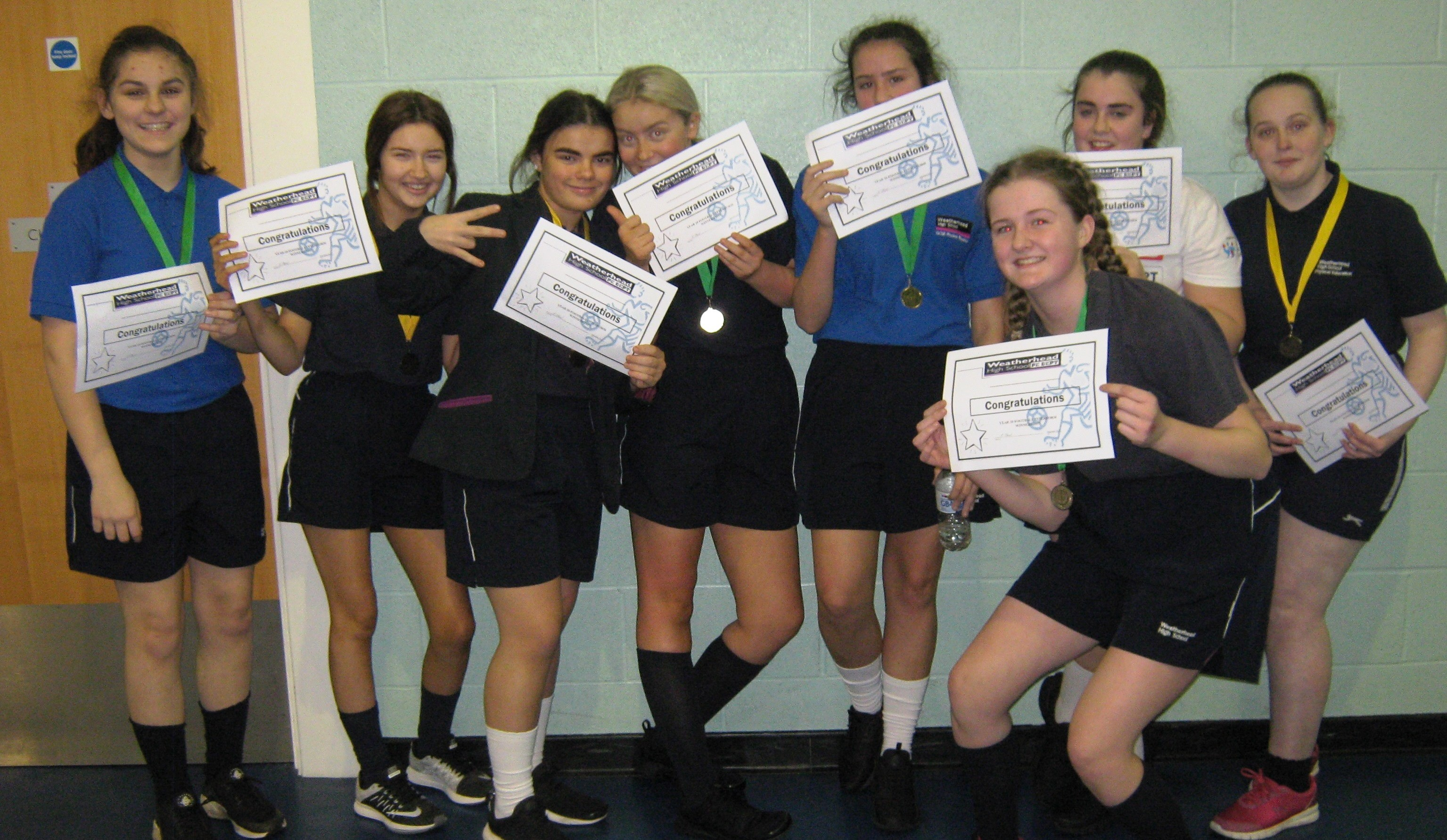 Interform Winners Year 10