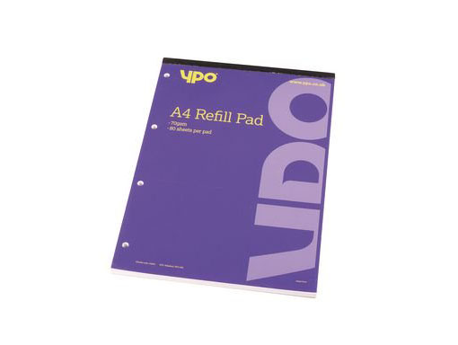 A4 Refill Pad (25 Points)