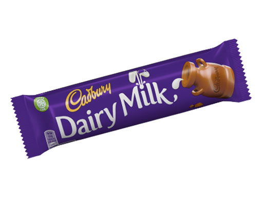 Cadbury Dairy Milk (55 Points)