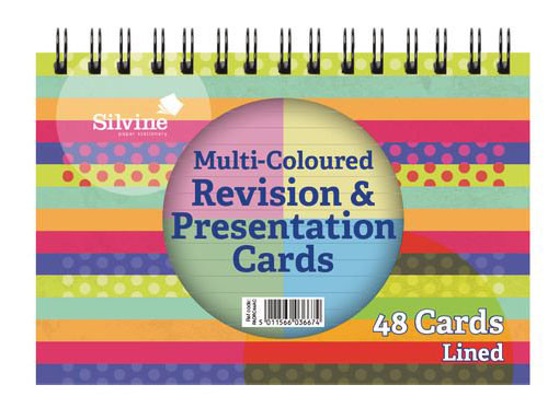Revision Cards Multi (50 Points)