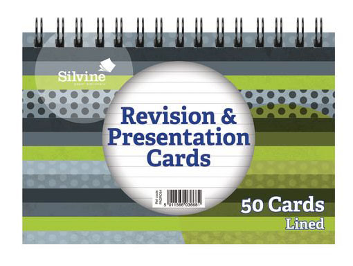 Revision Cards (50 Points)