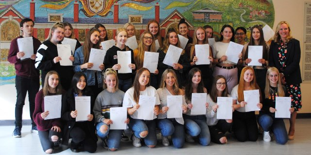 A Level Results Day 2019 (2b)