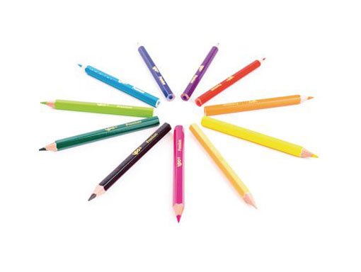 Half Length Colouring Pencils (25 Points)