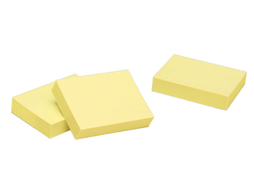 Small Yellow Sticky Notes (18 Points)