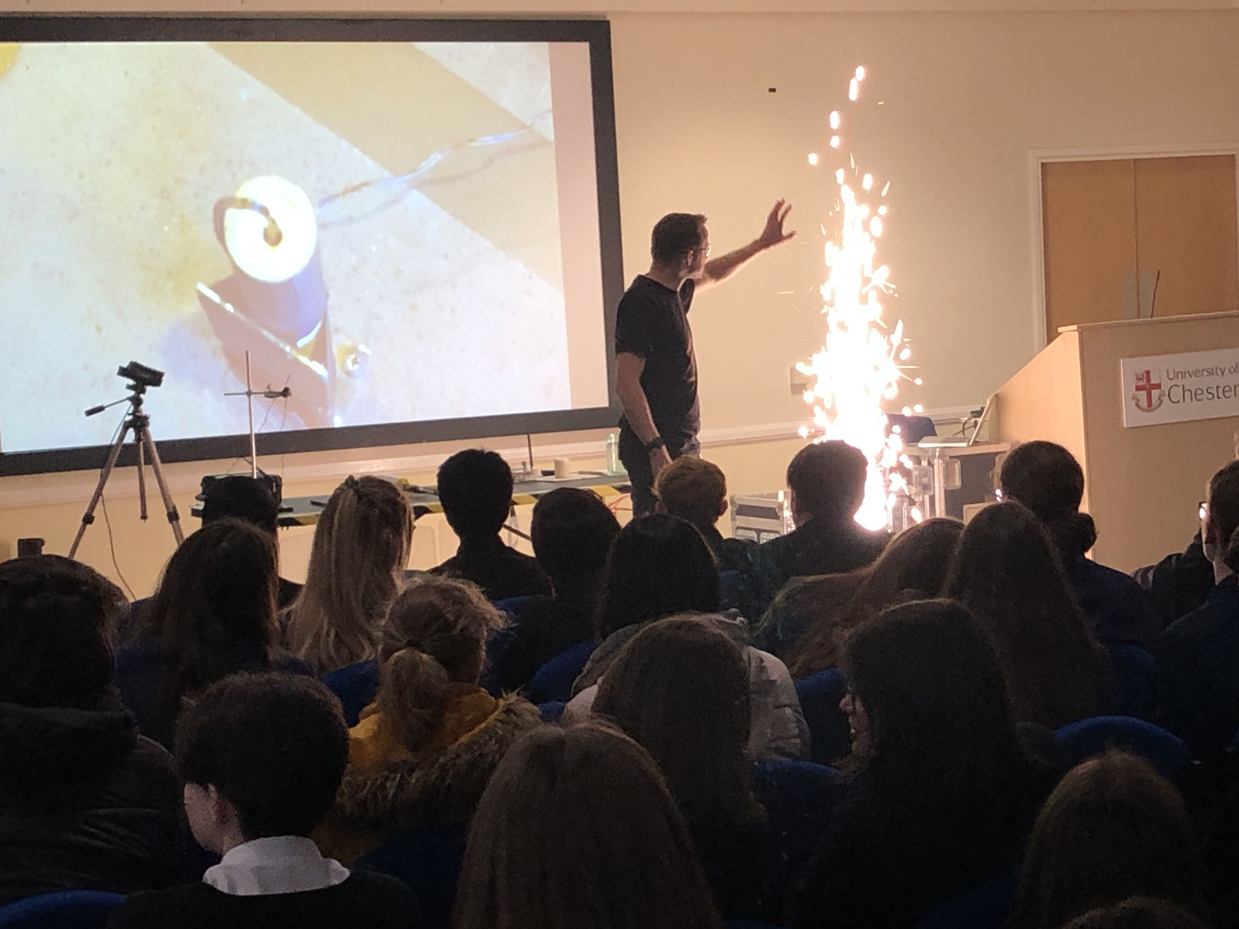 Fireworks Christmas Lecture (02)