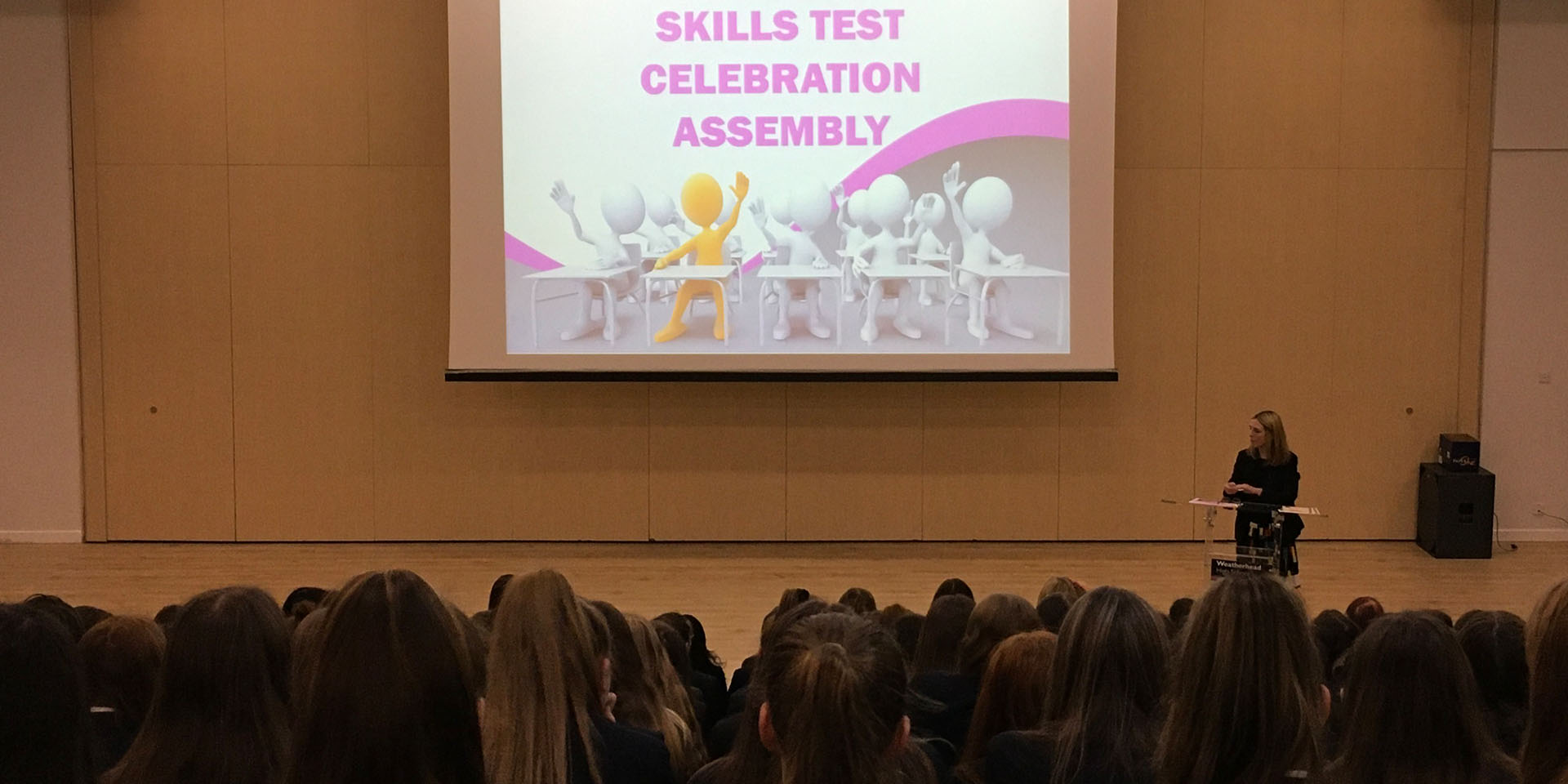 Year 8 Skills Test Celebration Assembly