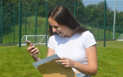 Weatherhead Sixth Form Students Celebrate All Their Hard Work With Excellent Results!